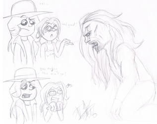 .:[DOODLE] I HAVE NO IDEA:. by Maniactheleader