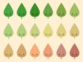 Cute Leaves by apparate