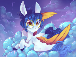 Crystaline Clouds by NebulaNovia
