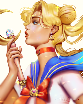 Sailor Moon by pinkincubi