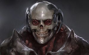 Space Skull by Guesscui