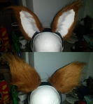 Nlindholm Fox Ears by FuzzButtFursuits