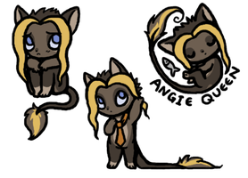 Angie doodles by BakaMichi
