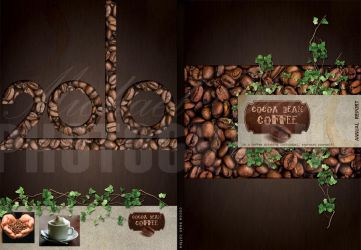 annual report Cocoabean coffee by michaelcdesign