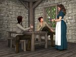 R-World History: Tavern Scene by DonKevinMartin