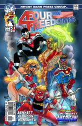 Four Freedoms #1 cover by UrsaMagnus