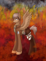 Attack on Titan Jean MLP by Derpsonhooves