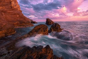 The Wild Coast in the sunset by LinsenSchuss