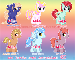 MLP Mare/Stallion ADOPTABLES by DisfiguredStick