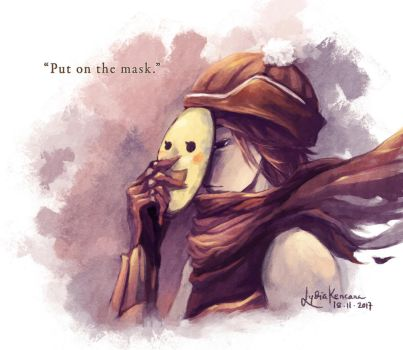 Put On The Mask by lydia-san