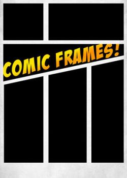 Comic book Frames Shapes Set 1 by mrbrownie