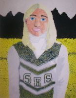 Pointillist Portrait of... me by BunnyGirl111284