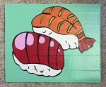 Duct tape sushi by TheDucttapeBassist