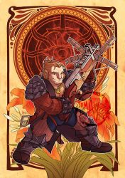 DAI - Decorative Heroes - Varric Tethras by aimo
