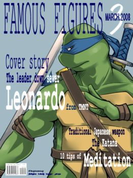 TMNT-Cover Leo by tmask01