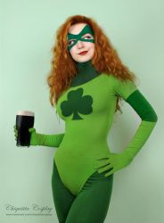 Shamrock (Marvel) by chiquitita-cosplay