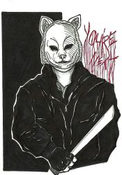 Inktober #7 - You're Next by NOTEBLUE13