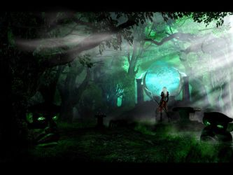 Grove Of The Ancients by abe123