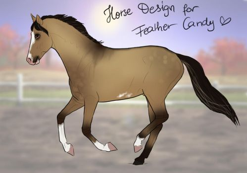Horse Design for FeatherCandy by RQsf