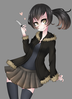 Izaya girl by NezhieI