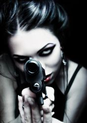 With gun loaded NEW by fantasmica