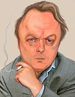 Christopher Hitchens by LFalco