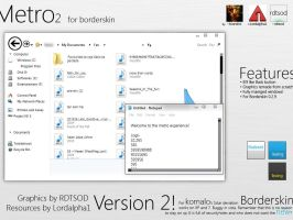 Windows 8 Metro Borderskin XP by RDTSOD