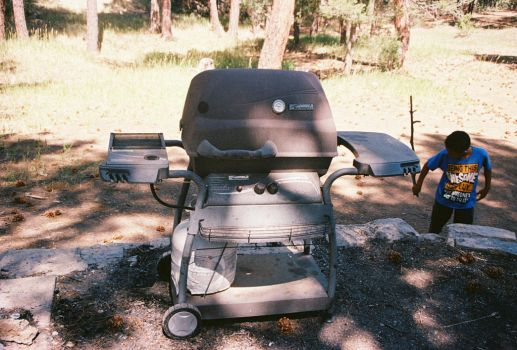Brother Tom's Propane Grill #2 by Texas1964