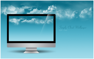 Simply Cloud Wallpaper by solutionall