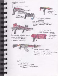 Scarlet Armies - Ironguard Ranged Weapons - Colour by Wingcap1