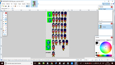 (PREVIEW) Sprites of my MM8BDM Skin by Thunderblade2001