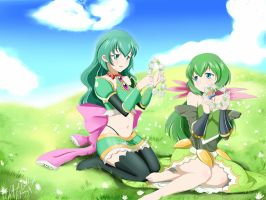 Brave Frontier: Faris and Lidith by kimmy77