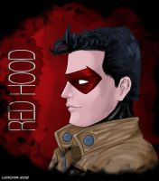 Red Hood - Jason Todd by Totally-Raven