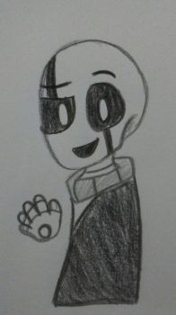 Gaster  by Scsk2