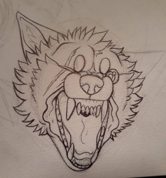Snarl WIP by FantwineTheDemon