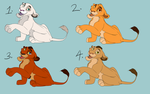 Cub Adoptables CLOSED by Ersalaa