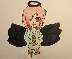 Chara // Angel Of Darkness ^ ^ by IWantToSayGoodbye