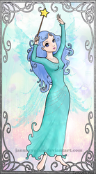 The Blue Fairy by PixiePaints