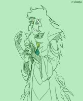Green Diamond by LittleSnaketail