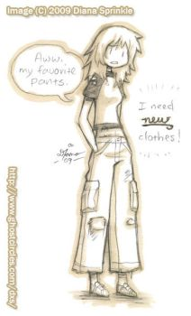 My Muse - holes in my clothes by amegoddess