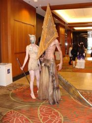 Pyramid Head full version 2.0 by Akushin