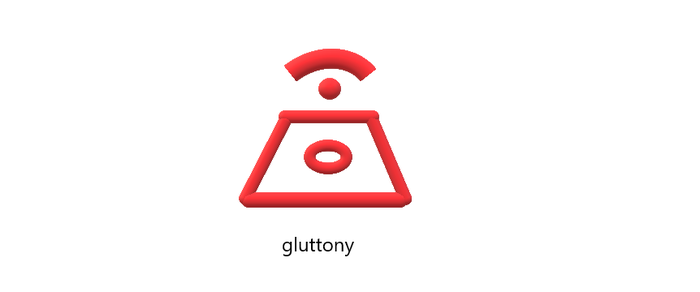Evil Crest of gluttony by titushandcock