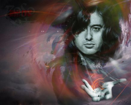 Jimmy Page 'Magnum Opus' by Cynthia-Blair