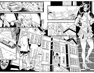 St Fran. inks pg 2 and 3 by HillmanArts