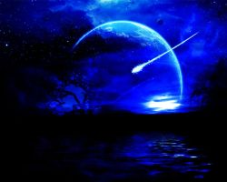 Wishing on a shooting star by ExctonIc