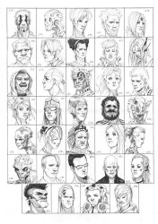 Heads 613-646 by one-thousand-heads