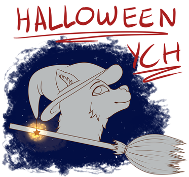 HALLOWEEN YCH $3 by lazygout