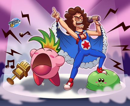 NSP Kirby Crossover (Part 1) by MarkProductions