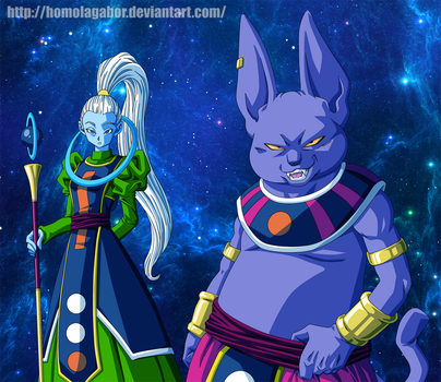 dragonball super champa and vados by homolagabor on deviantart