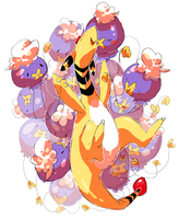 drifloon and ampharos